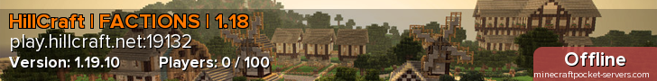 HillCraft | FACTIONS | 1.14.60